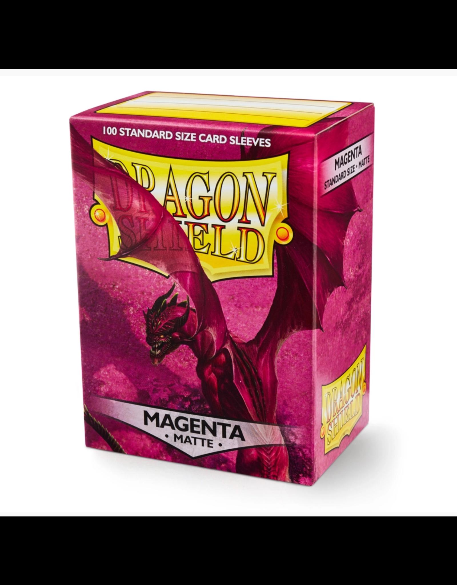 Arcane Tinmen Dragon Shield: Matte Magenta Card Sleeves 100 Count