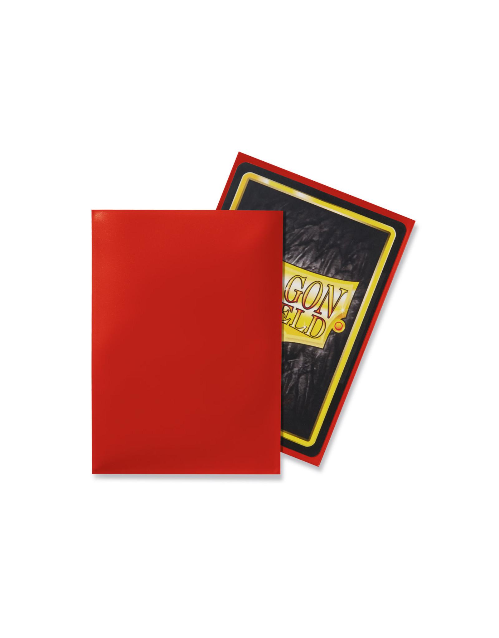 Arcane Tinmen Dragon Shield: Classic Crimson Card Sleeves 100 Count