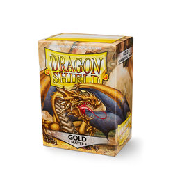Arcane Tinmen Dragon Shield: Matte Gold Card Sleeves 100 Count