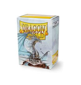 Arcane Tinmen Dragon Shield: Matte Silver Card Sleeves 100 Count
