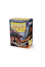 Arcane Tinmen Dragon Shield Sleeves: Matte Non-Glare Black (Box Of 100)