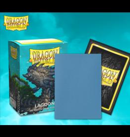 Arcane Tinmen Dragon Shields: (100) Matte Dual - Lagoon