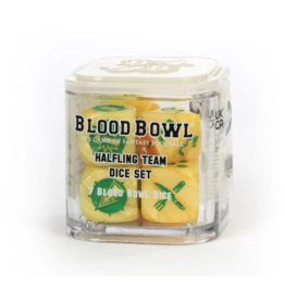 Games Workshop Halfling Team Dice Set - Blood Bowl