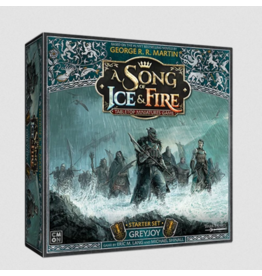 Cool Mini or Not PREORDER: Greyjoy Starter Set - A Song of Ice & Fire