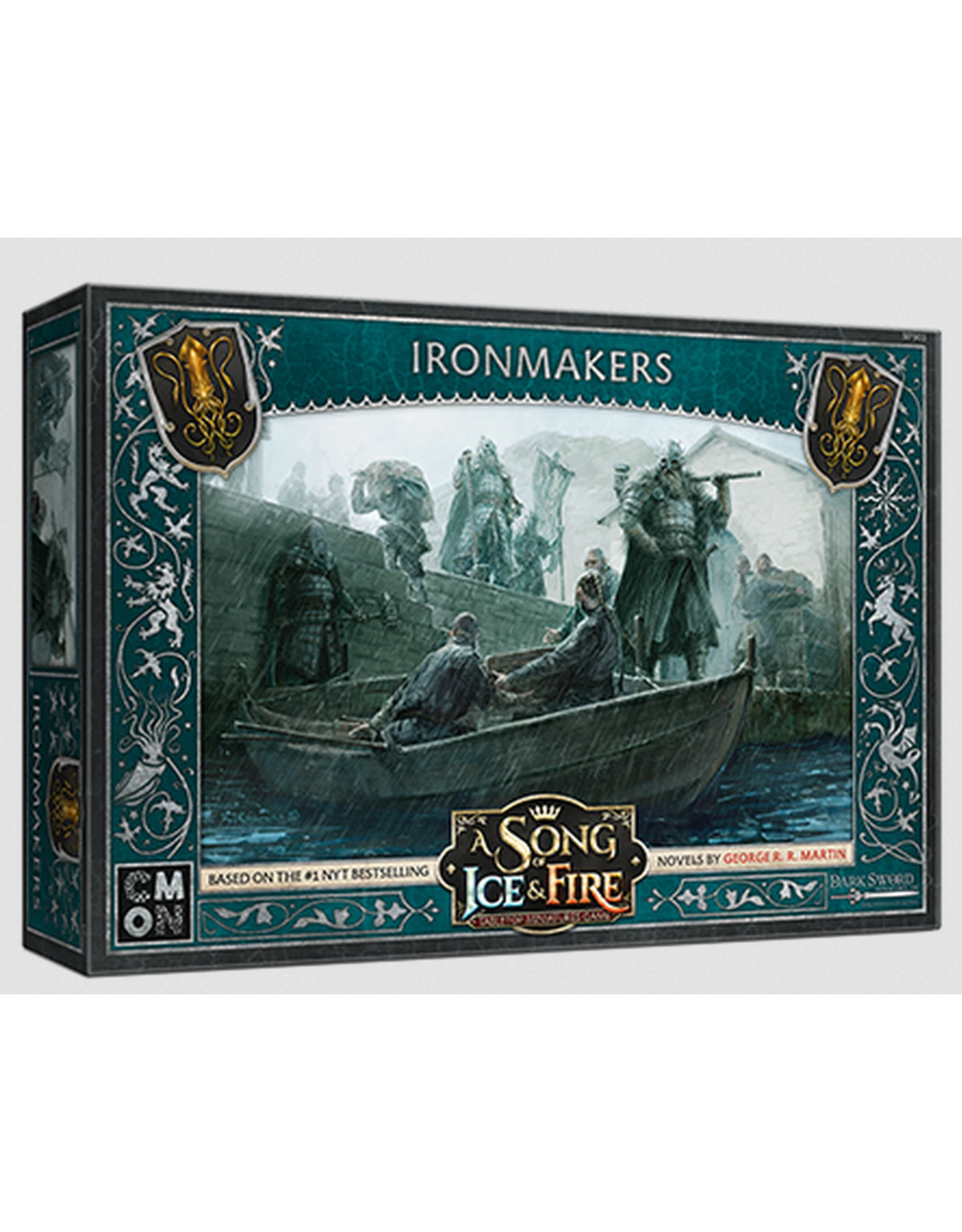 Cool Mini or Not Greyjoy Ironmakers - A Song of Ice & Fire