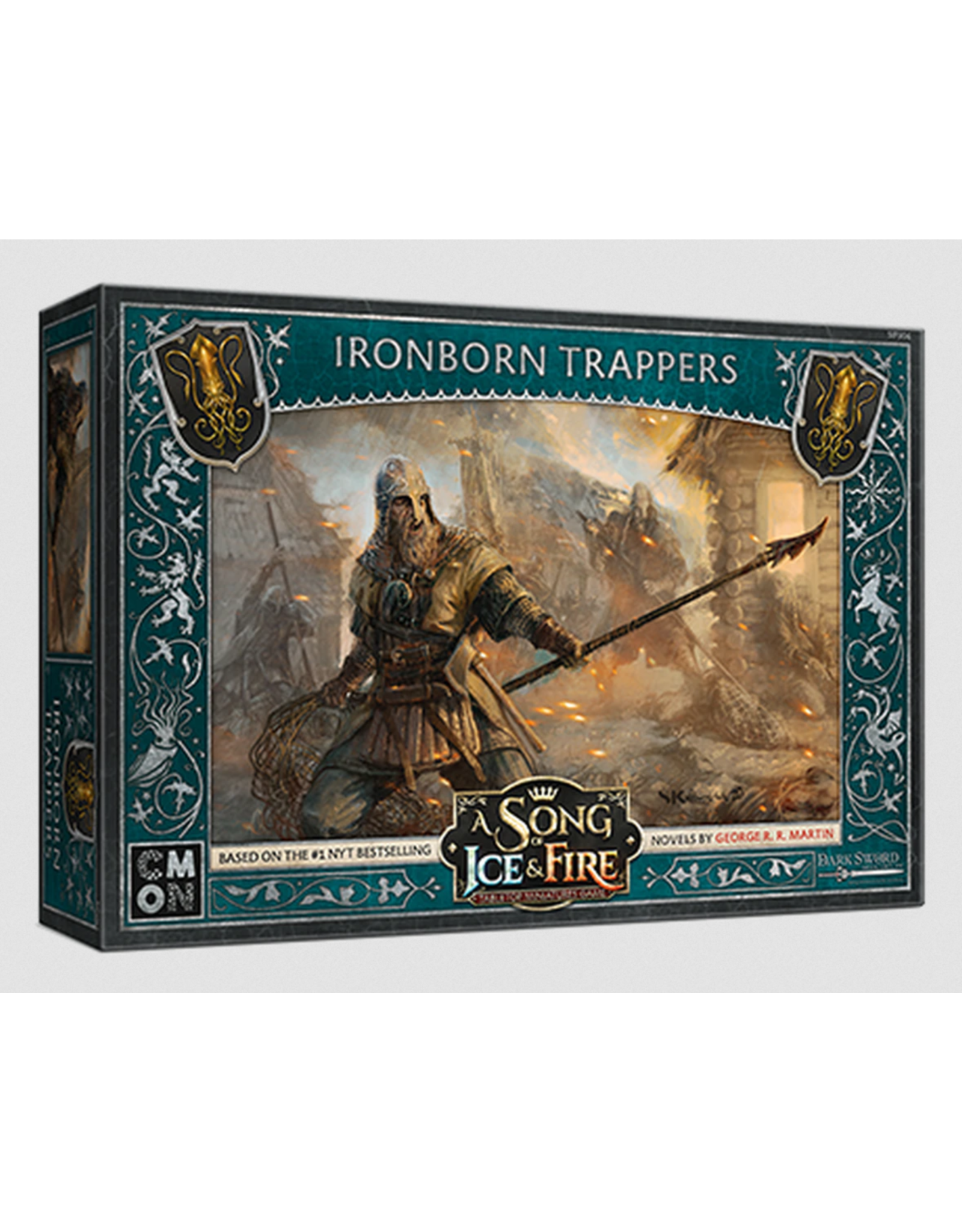 Cool Mini or Not Greyjoy Ironborn Trappers - A Song of Ice & Fire