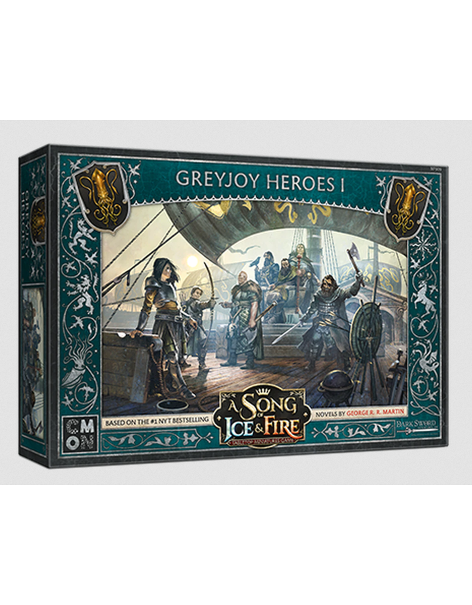 Cool Mini or Not Greyjoy Heroes #1 - A Song of Ice & Fire