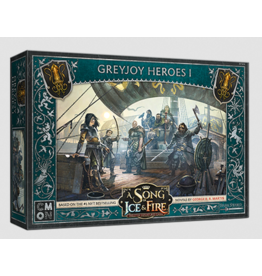 Cool Mini or Not PREORDER: Greyjoy Heroes #1 - A Song of Ice & Fire