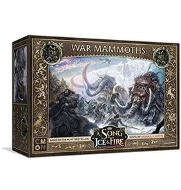Cool Mini or Not Free Folk War Mammoths - A Song of Ice & Fire