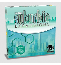 Bezier Games Suburbia: 2nd Edition Expansions
