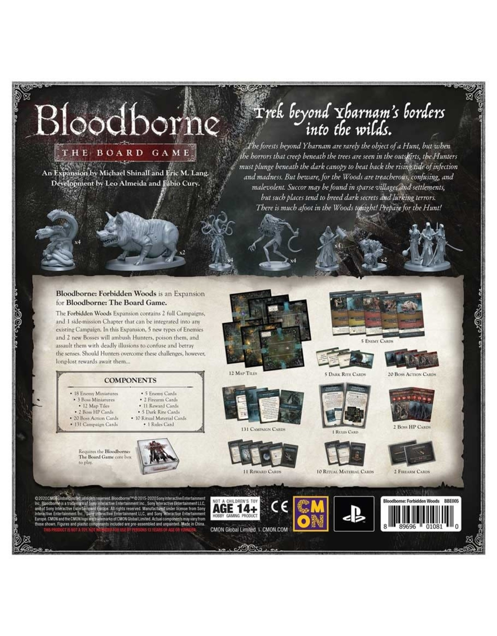 Cool Mini or Not PREORDER: Forbidden Woods - Bloodborne The Board Game