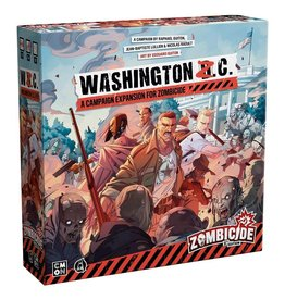 Cool Mini or Not PREORDER: Zombicide 2E: Washington Z.C.