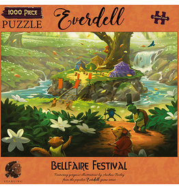 Asmodee PREORDER: Everdell Puzzles - Bellfaire Festival