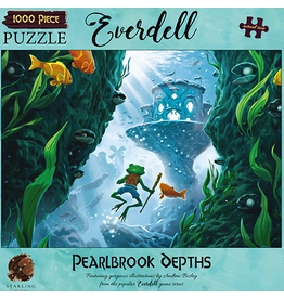 Asmodee PREORDER: Everdell Puzzles - Pearlbrook Depths