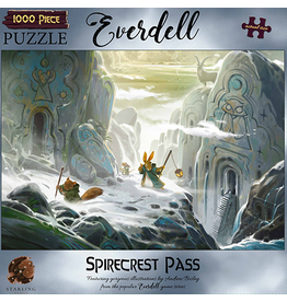 Asmodee Everdell Puzzles - Spirecrest Pass