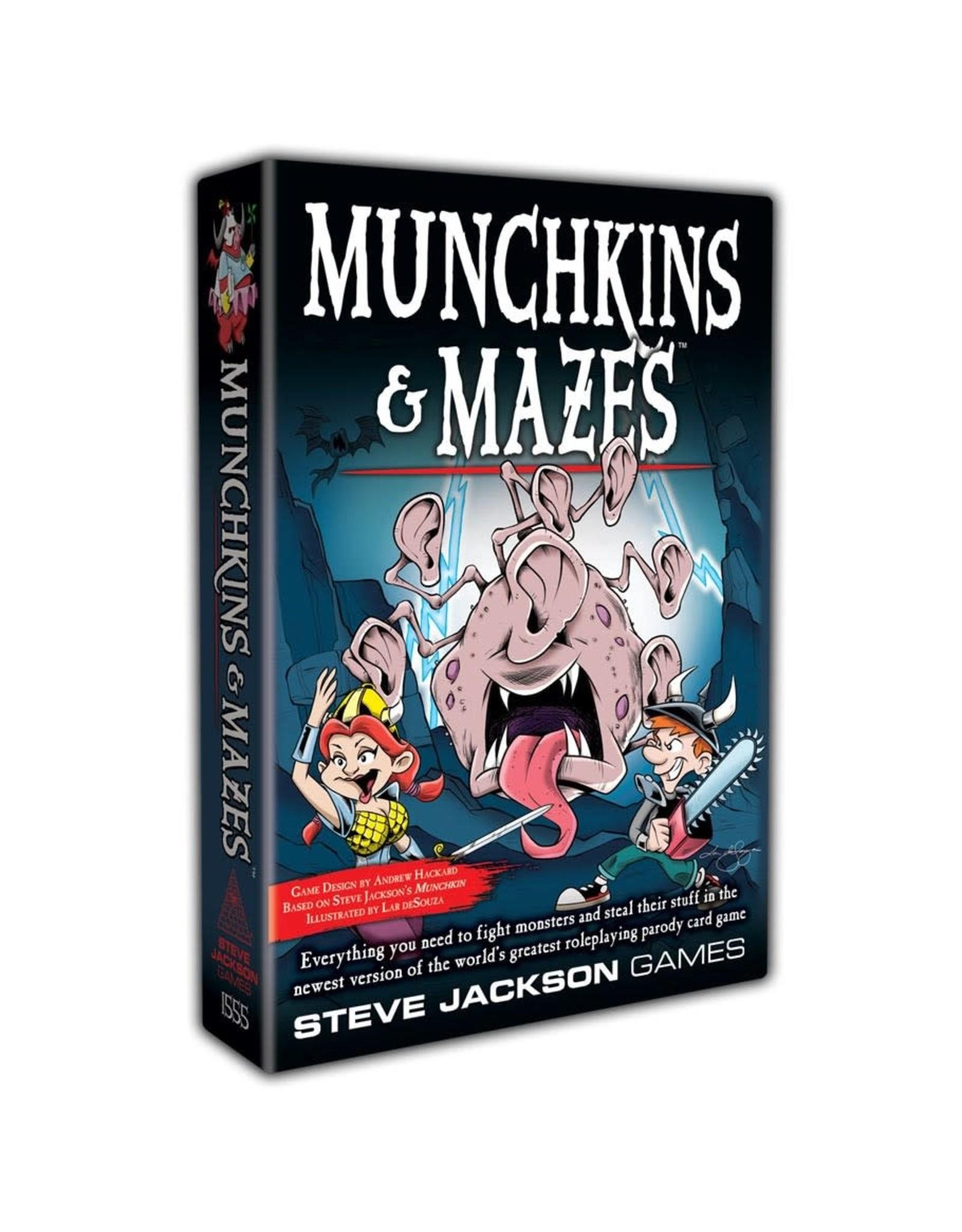 Steve Jackson Games Munchkin: Munchkins & Mazes