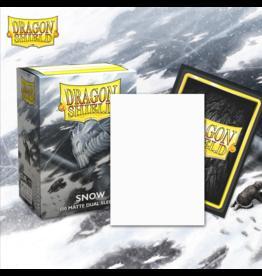 Arcane Tinmen PREORDER: Dragon Shields: (100) Matte Dual - Snow