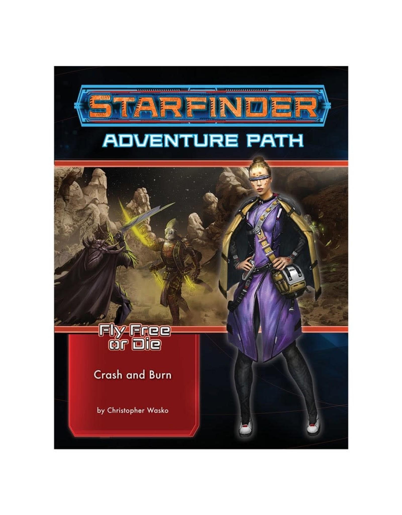 Paizo Starfinder Adventure Path: Fly Free or Die 5 - Crash and Burn