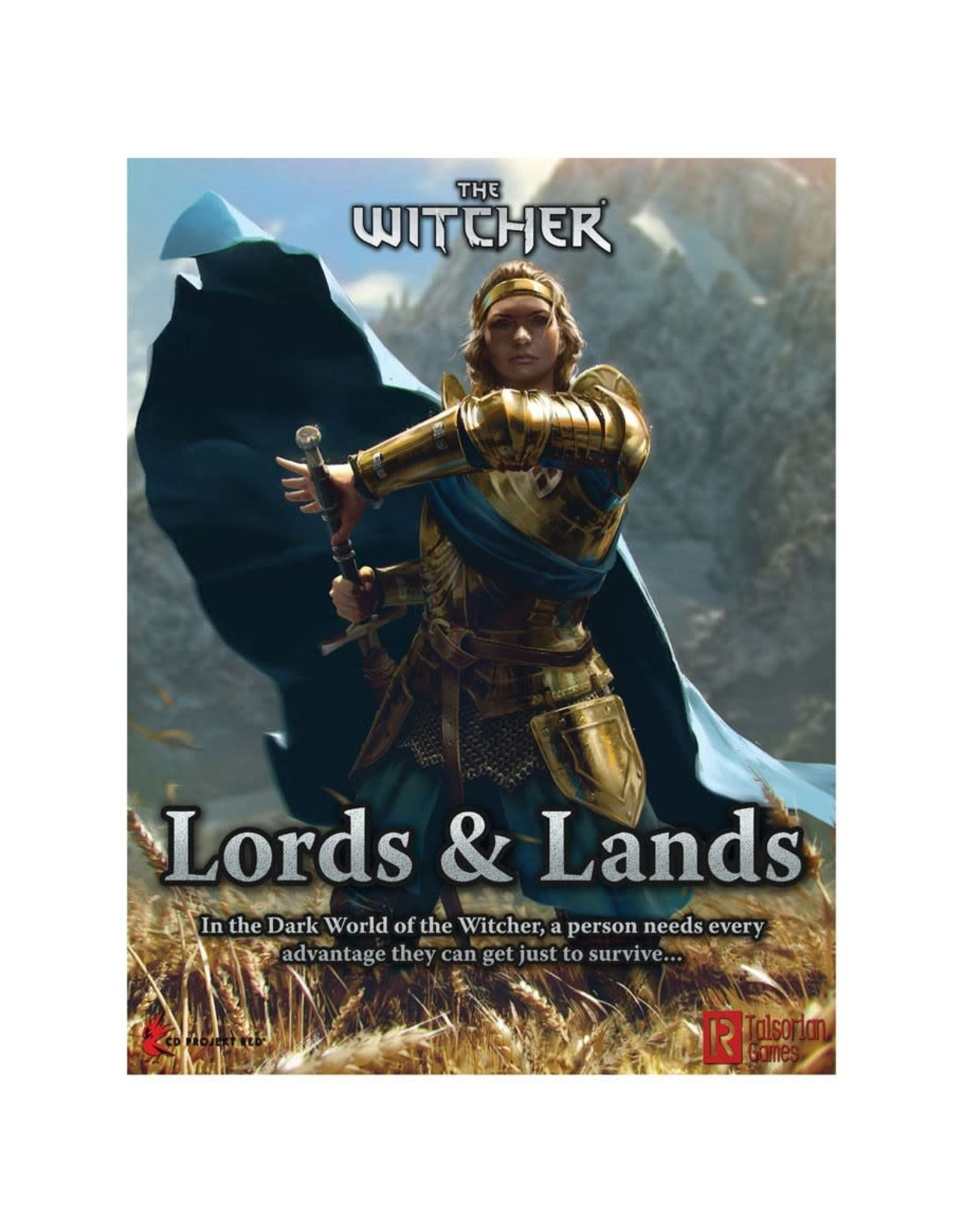 R. TALSORIAN GAMES The Witcher RPG: Lords & Lands