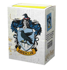 Arcane Tinmen Brushed Art: HP Ravenclaw (Box of 100) - Dragon Shield Sleeves