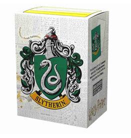 Arcane Tinmen Brushed Art: HP Slytherin (Box of 100) - Dragon Shield Sleeves