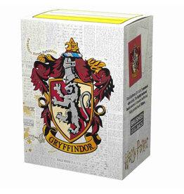 Arcane Tinmen Brushed Art: HP Gryffindor (Box of 100) - Dragon Shield Sleeves