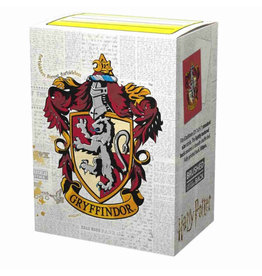 Arcane Tinmen PREORDER: Brushed Art: HP Gryffindor (Box of 100) - Dragon Shield Sleeves