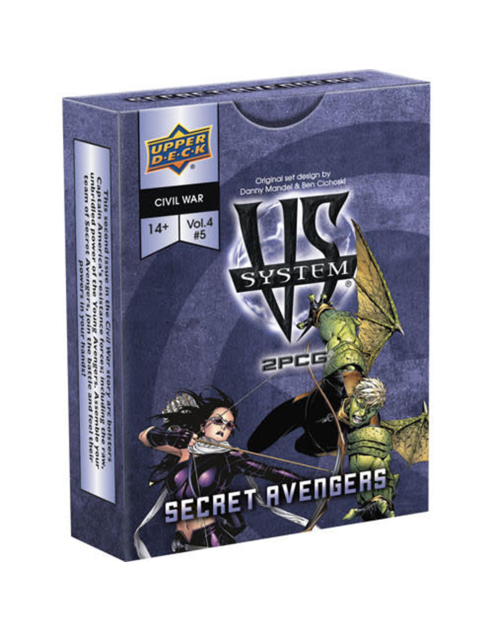 Upper Deck PREORDER: VS System 2PCG: Secret Avengers