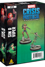 Atomic Mass Games Sin and Viper - Marvel Crisis Protocol