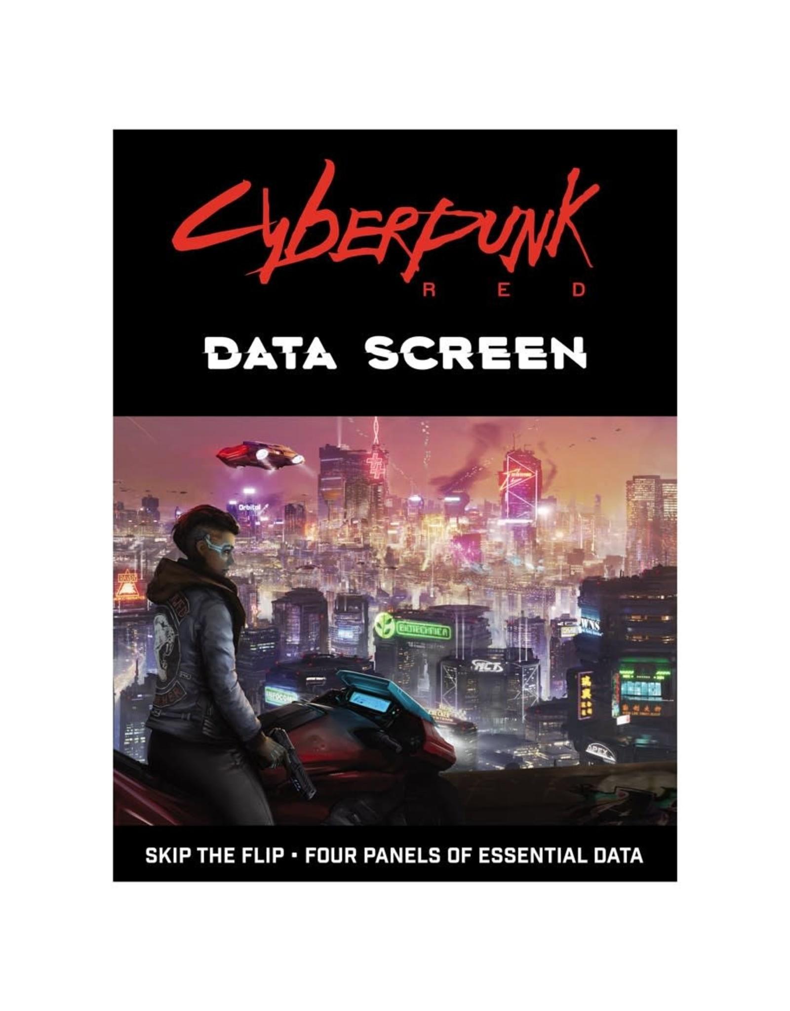 R. TALSORIAN GAMES Cyberpunk Red: Data Screen