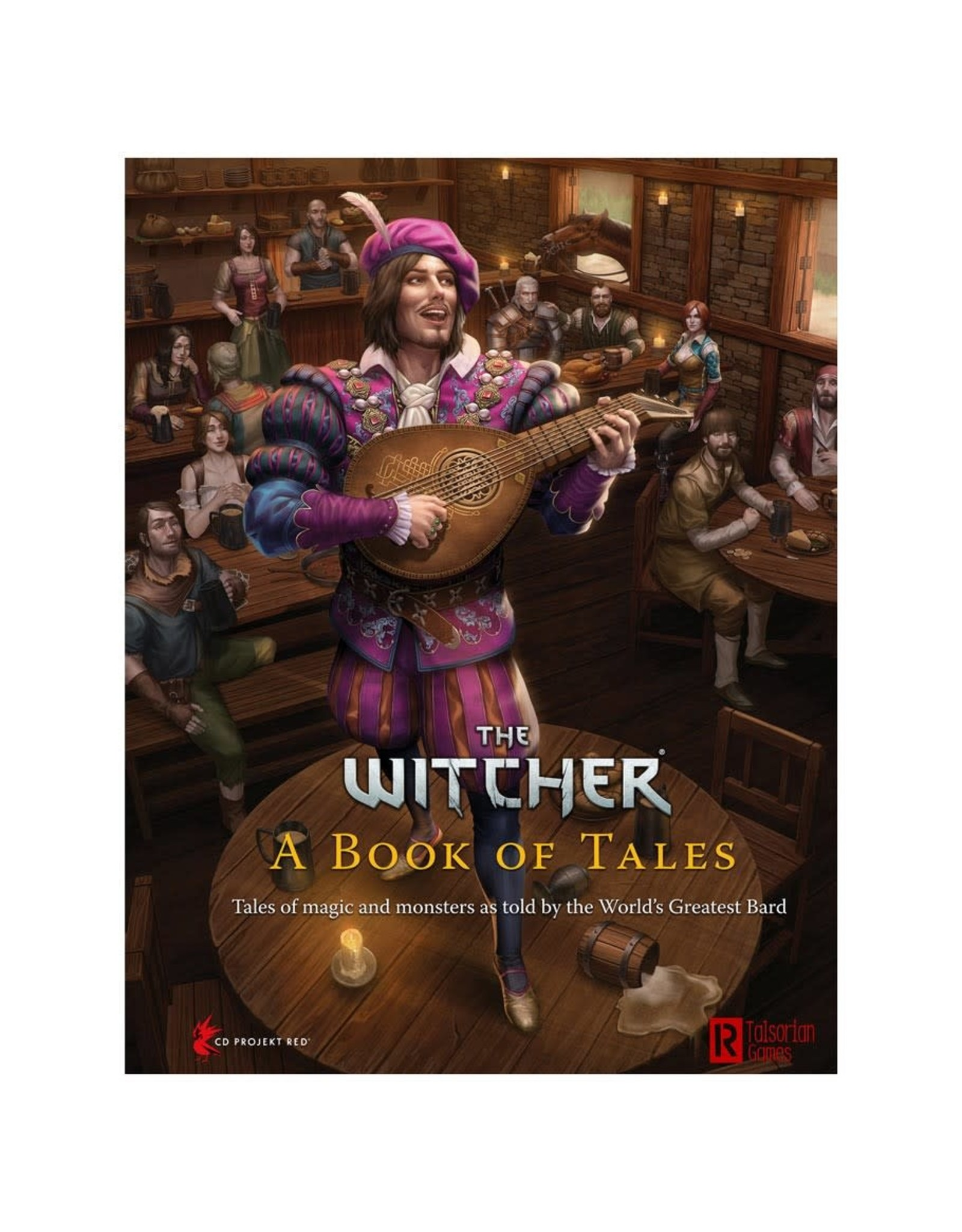 R. TALSORIAN GAMES PREORDER: The Witcher RPG: A Book of Tales