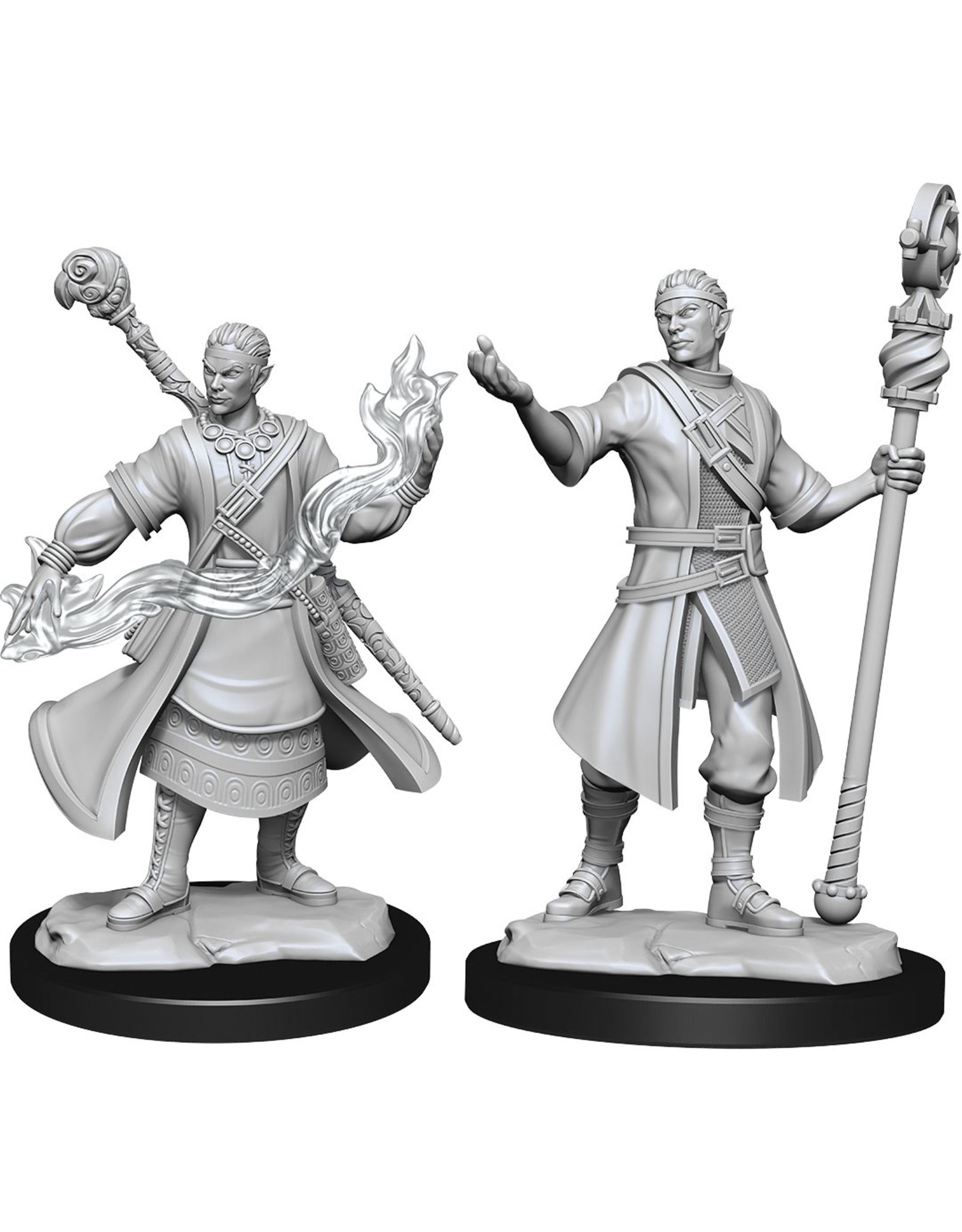 Wizkids D&D Nolzurs Unpainted Minis: W14 Half-Elf Wizard Male