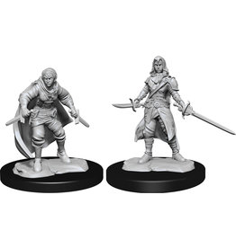 Wizkids D&D Nolzurs Unpainted Minis: W14 Half-Elf Rogue Female