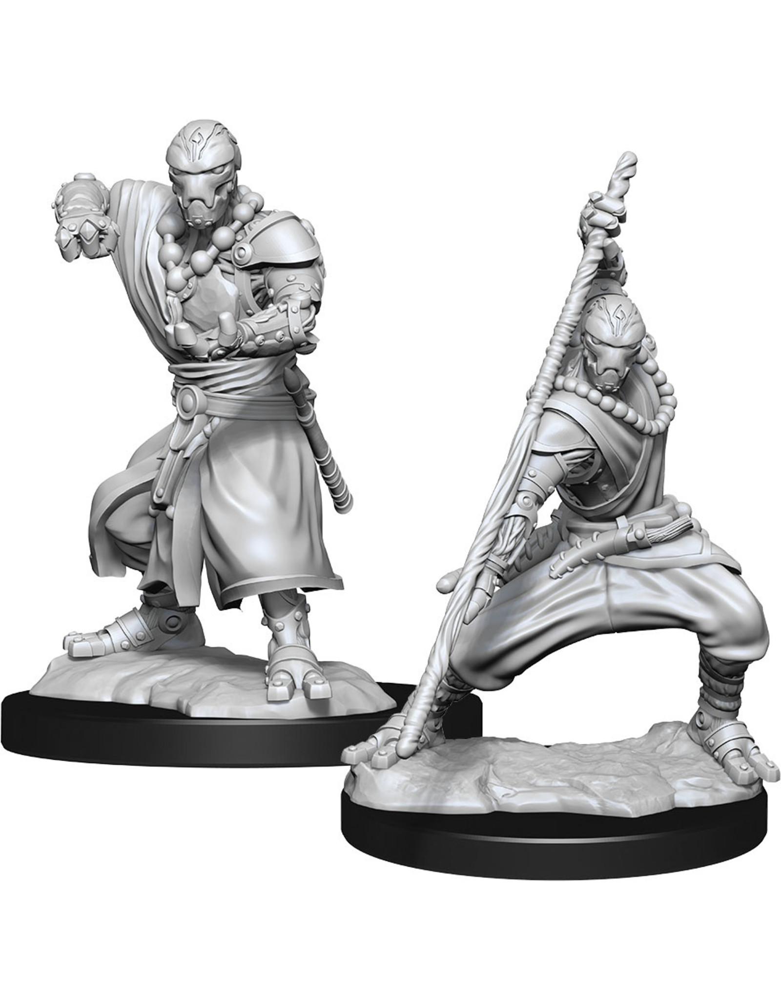 Wizkids D&D Nolzurs Unpainted Minis: W14 Warforged Monk