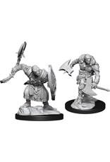 Wizkids D&D Nolzurs Unpainted Minis: W14 Warforged Barbarian