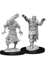 Wizkids D&D Nolzurs Unpainted Minis: W14 Scarecrow & Stone Cursed