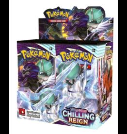 Pokemon Company PREORDER: Chilling Reign Booster Box - Pokemon