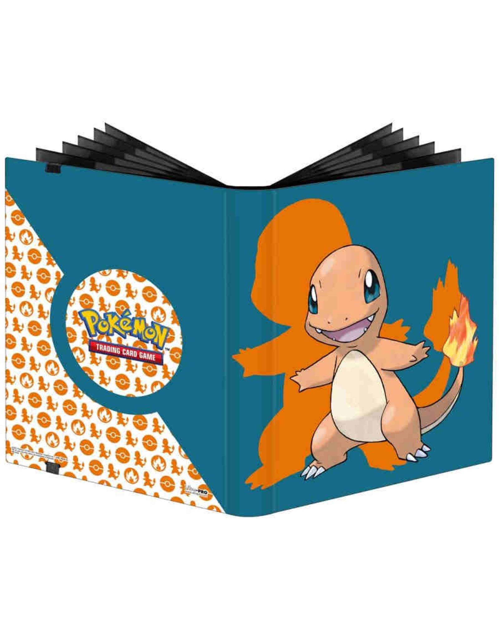 Ultra Pro PREORDER: Charmander 9-Pocket Pro Binder - Pokemon
