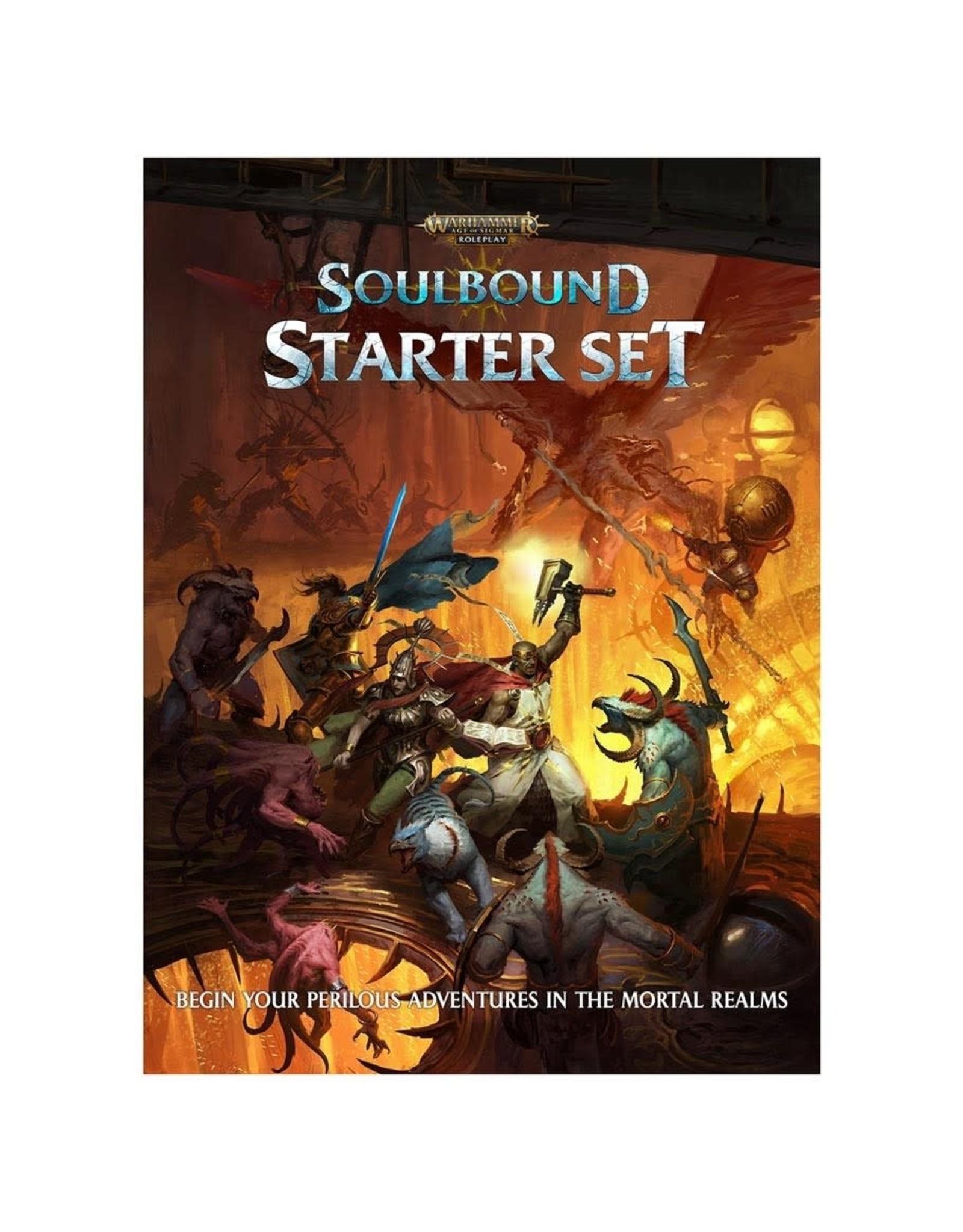 Cubicle Seven Warhammer Age of Sigmar - Soulbound RPG: Starter Set