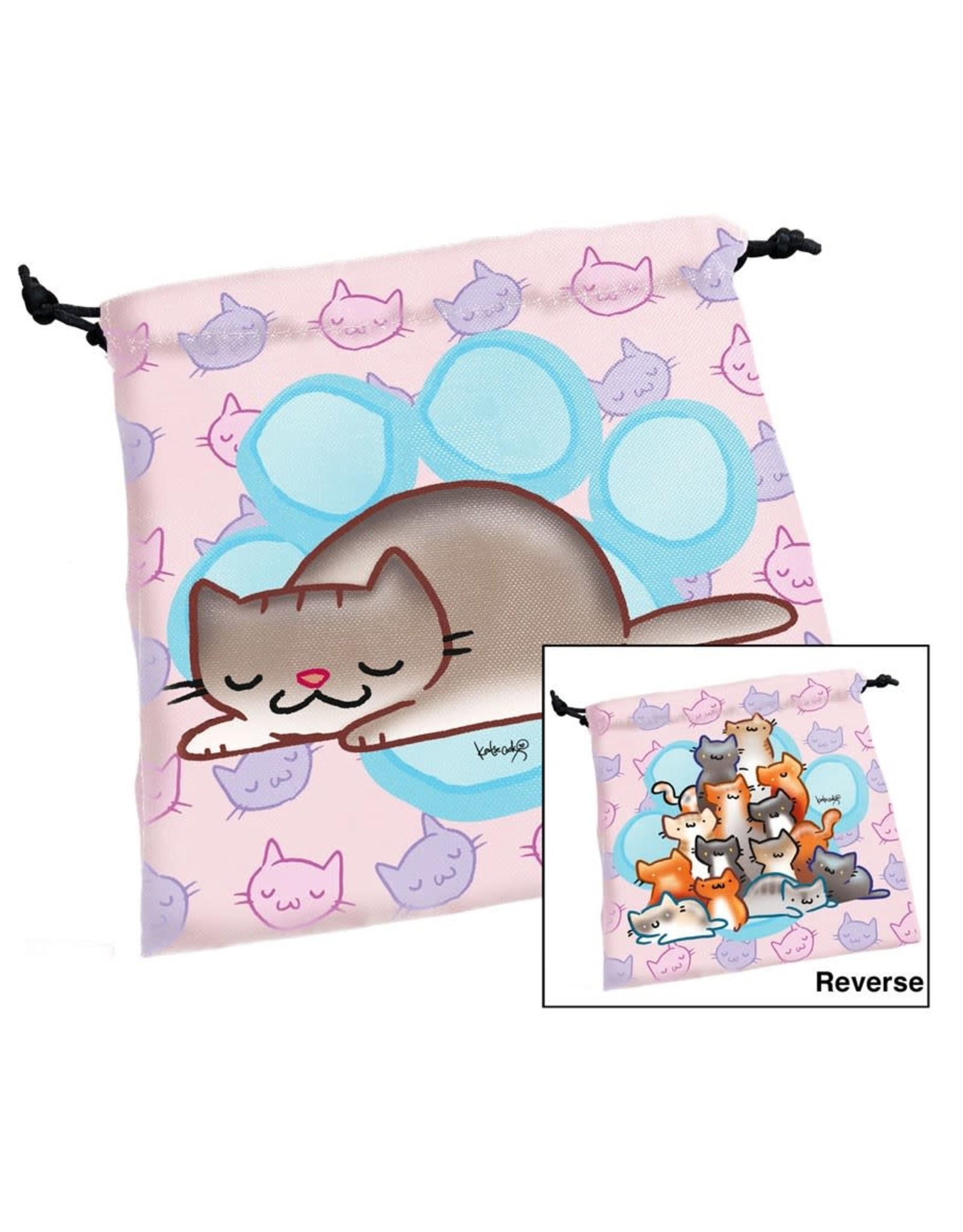 Steve Jackson Games Dice Bag: Munchkin Kittens