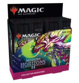 Wizards of the Coast PREORDER: Modern Horizons 2 Collector Booster Box - Magic
