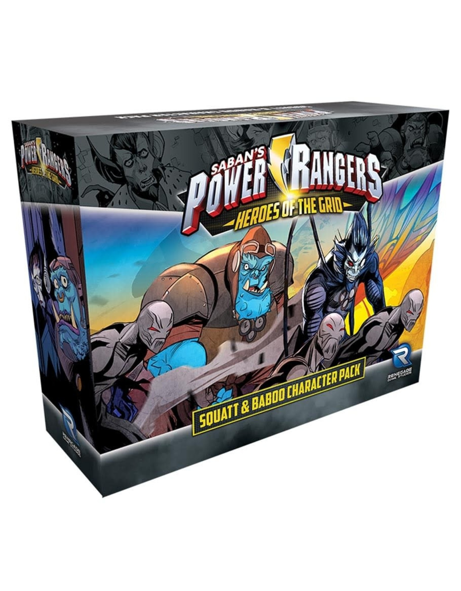 Renegade Squatt & Baboo Character Pack - Power Rangers: Heroes of the Grid