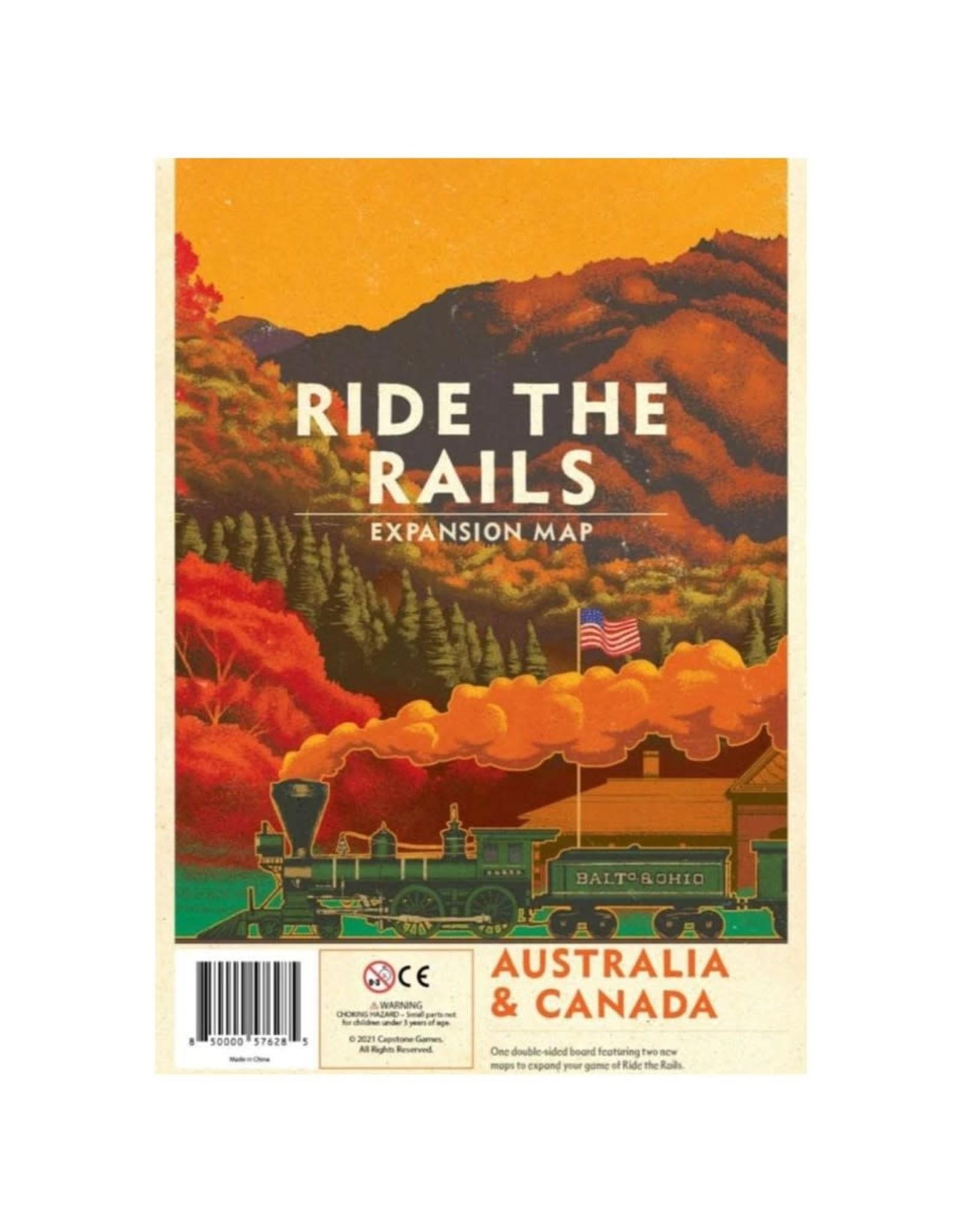 Capstone Australia & Canada Map Expansion - Ride the Rails