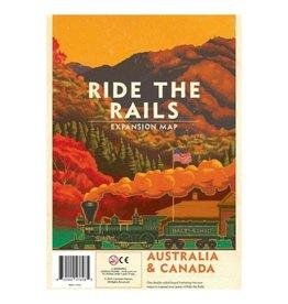 Capstone PREORDER: Australia & Canada Map Expansion - Ride the Rails