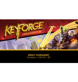 Keyforge Tournament Tues 8/3  6:00pm