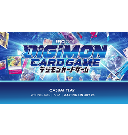 Digimon Casual Play Wed 8/11 - 5PM