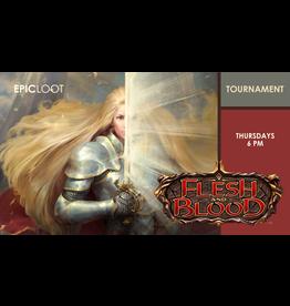 Flesh and Blood Tournament Thu 8/5 6:00pm