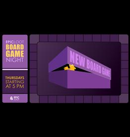 Epic Board Game Night 8/12/21 - 5:00pm