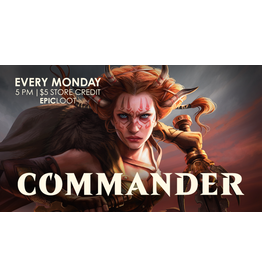Commander Casual Play - Mon 8/16 - 5PM