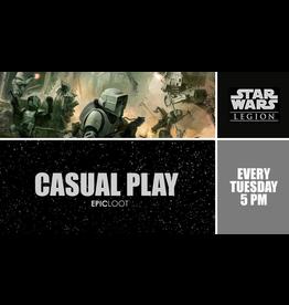 Star Wars Legion Casual Play - Tues 8/17 5PM